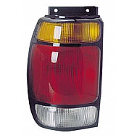 Go-Parts OE Replacement for 1995 - 1997 Ford Explorer Rear Tail Light Lamp Assembly / Lens / Cover - Left (Driver) F67Z 13405 AA FO2800113 Replacement For Ford Explorer 1995 95 Ford Explorer Tail