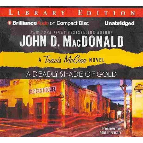 A Deadly Shade of Gold: Library Edition