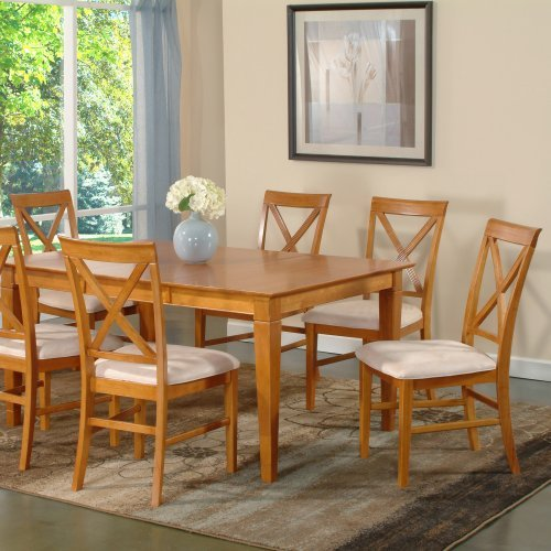 Deco 7-Piece Butterfly Dining Set