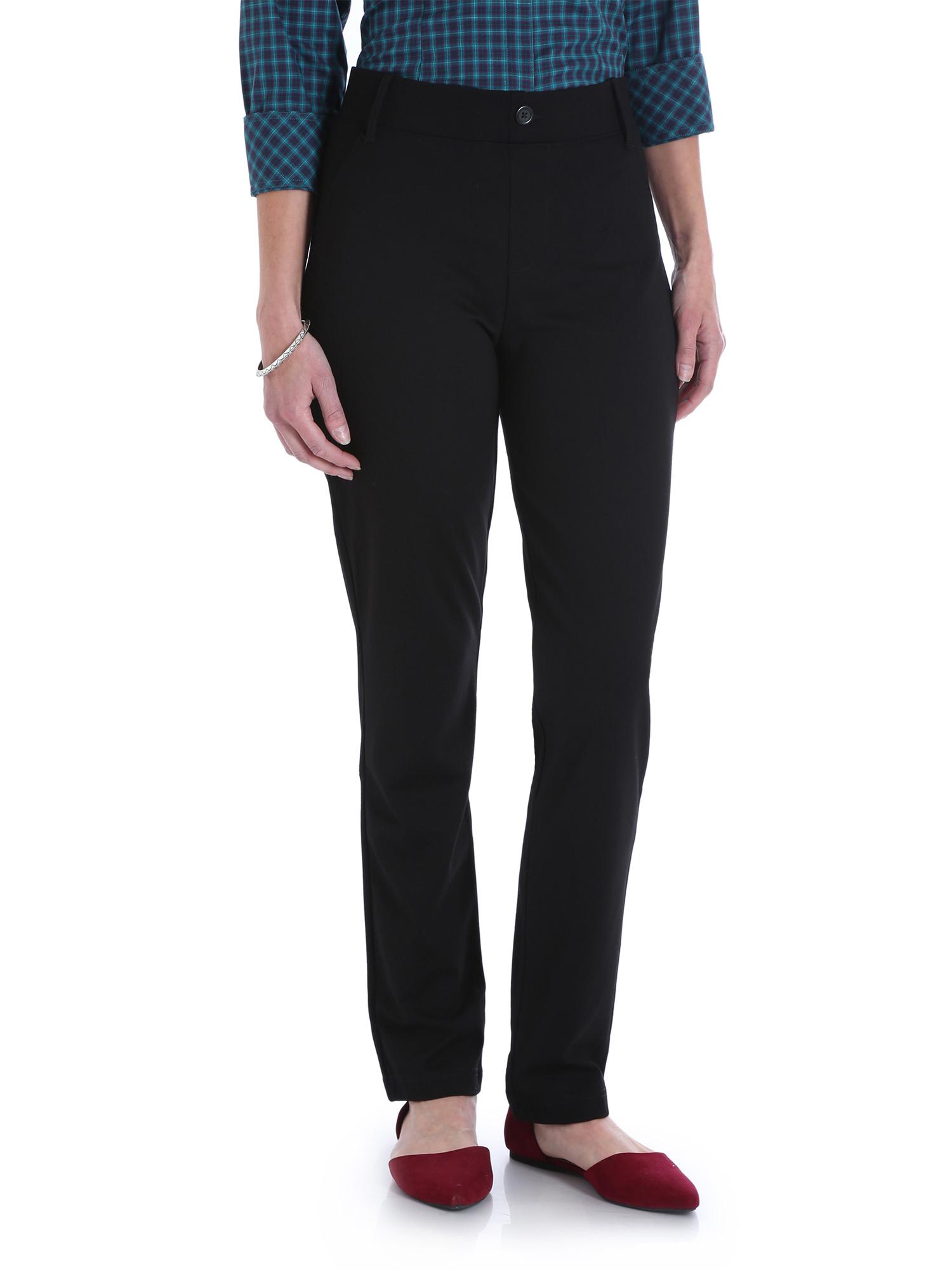 Women's Slim Straight Knit Pull On Pant