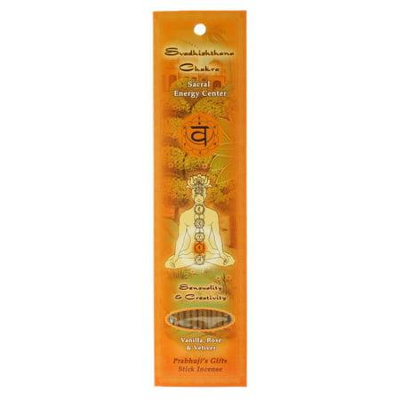 Incense Sticks Sacral Chakra Svadhishtana - Sensuality and (Best Stones For Sacral Chakra)