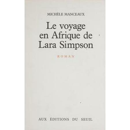 Le Voyage en Afrique de Lara Simpson - eBook