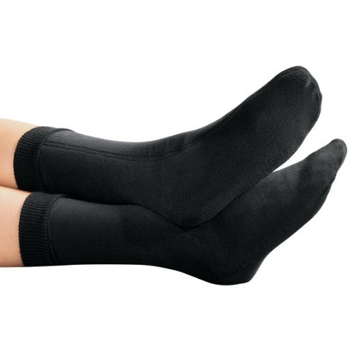 PolarEx Storm-Tec Fleece Socks - Black - Small
