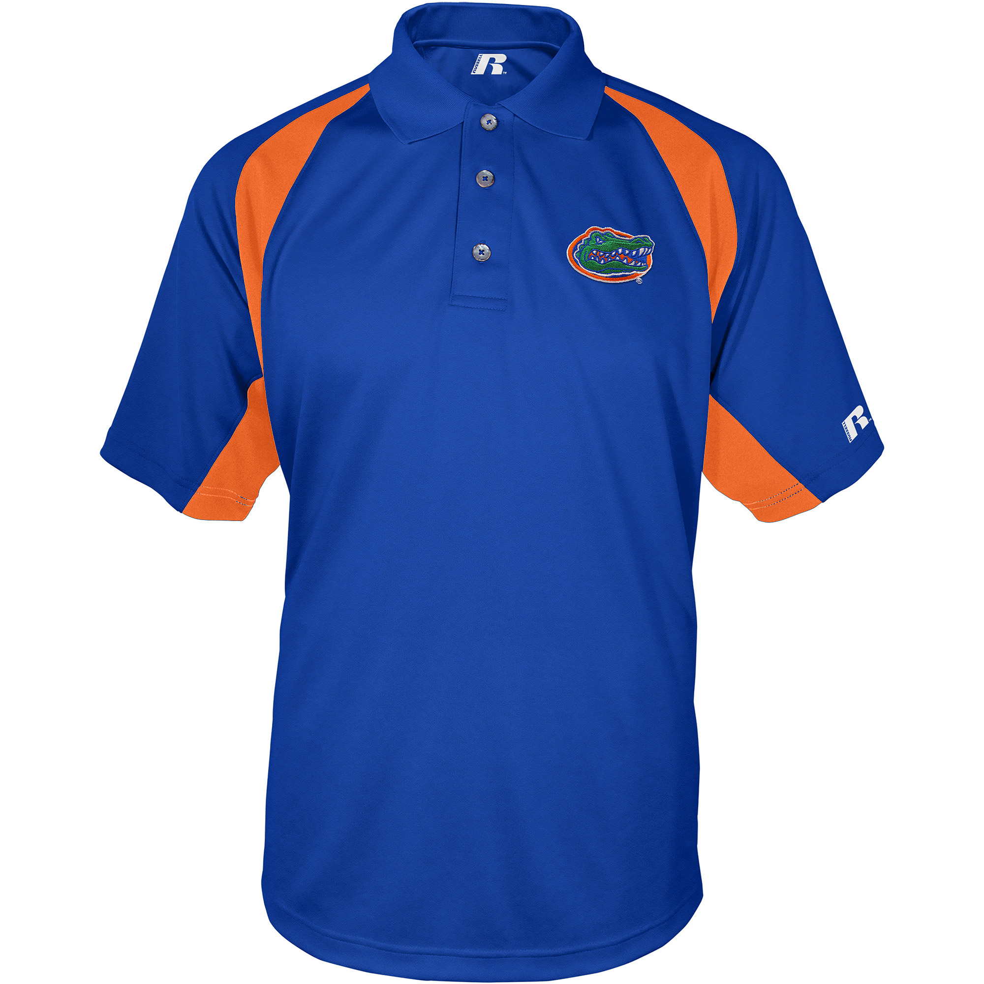 Russell NCAA Florida Gators, Men's Synthetic Polo