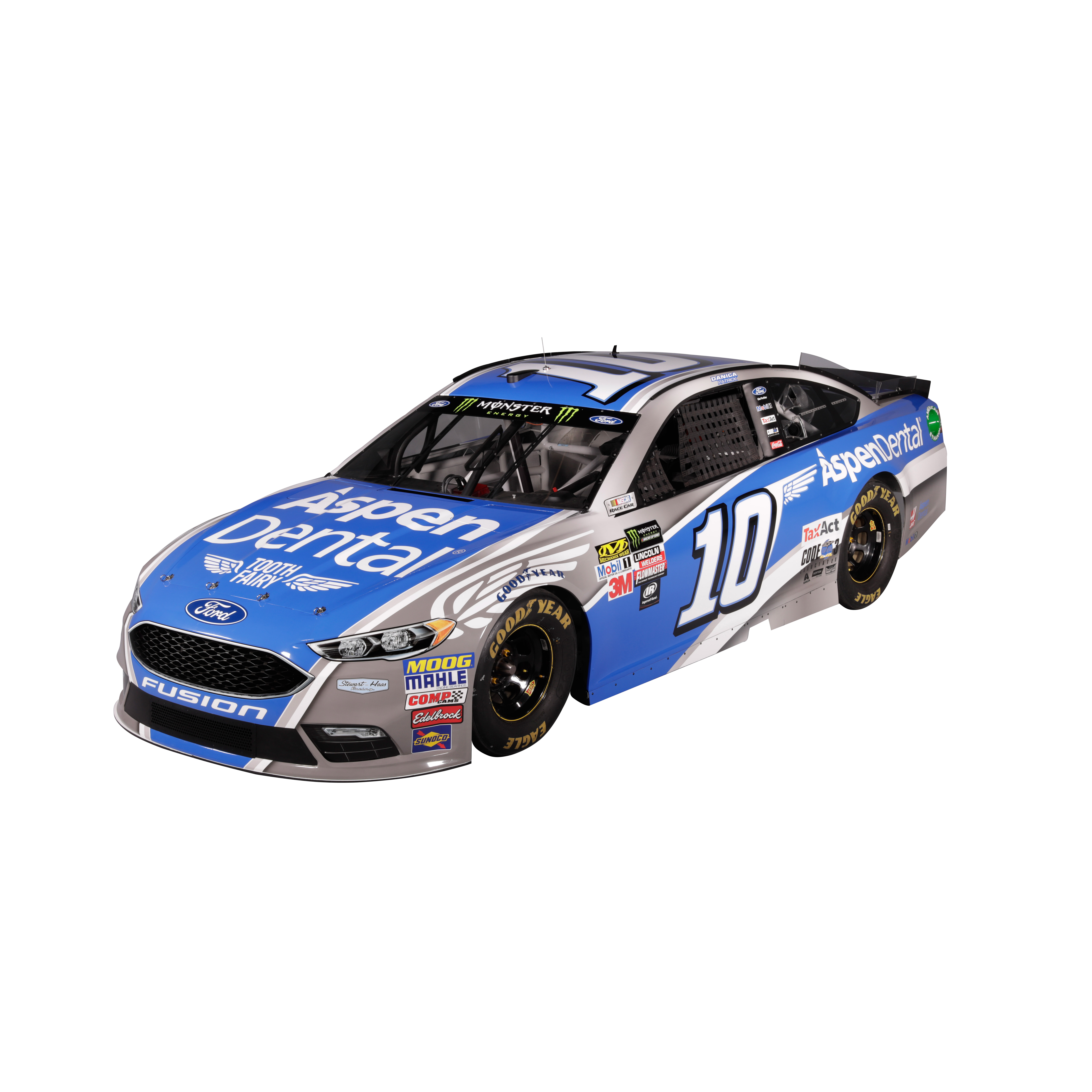 Danica Patrick Action Racing 2017 #10 Aspen Dental 1:24 Monster Energy Nascar Cup Series... by Lionel LLC