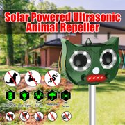 Best  - Solar PIR Ultrasonic Animal Repellent Dog Cat Insect Review