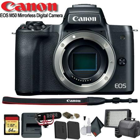 Canon EOS 5D Mark IV DSLR Camera (Intl Model) (1483C002) - Starter Bundle