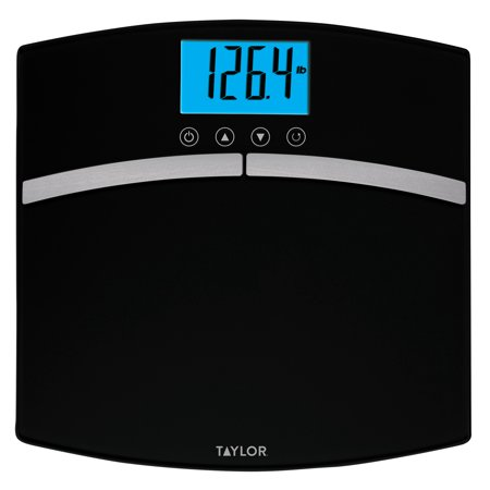 Taylor Glass Body Composition Bath Scale Walmart Com