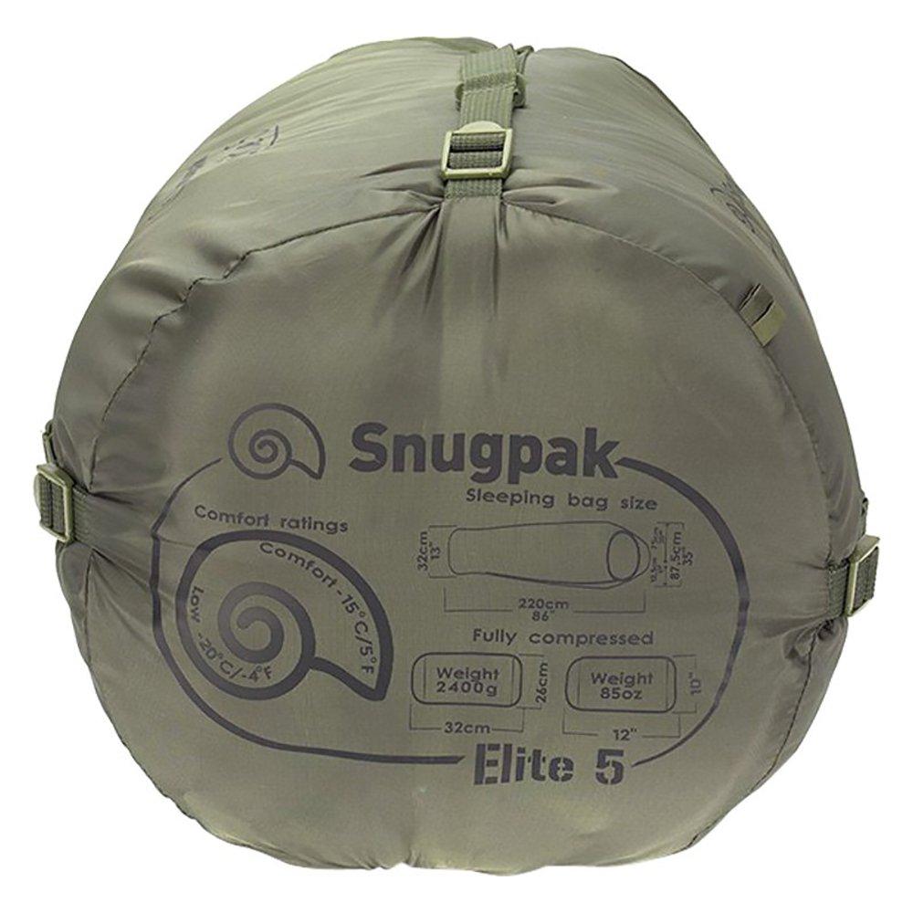 Snugpak 4005563 Softie Elite 5 Sleeping Bag - Olive - image 4 de 5