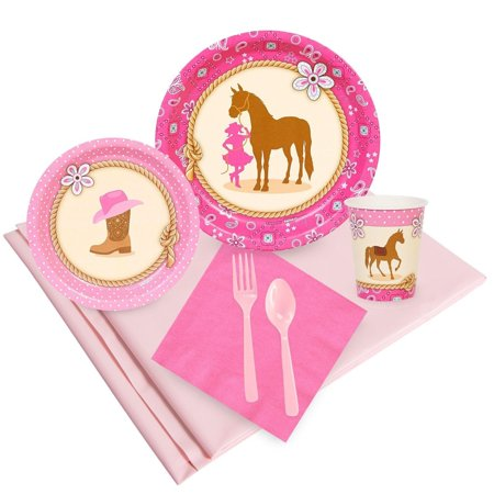 Western Cowgirl Party Pack For 8
