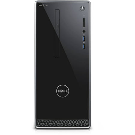 Dell Silver Inspiron 3650 Desktop Pc With Intel Pentium G4400 Processor  4Gb Memory  1Tb Hard Drive And Windows 10 Home  Monitor Not Included