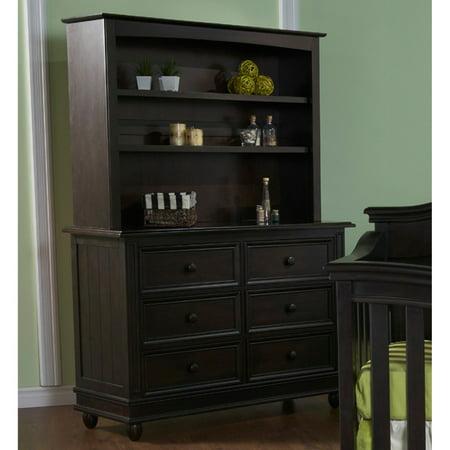 Pali Designs Marina Double Dresser with Optional Hutch (Munire Dresser Hutch)