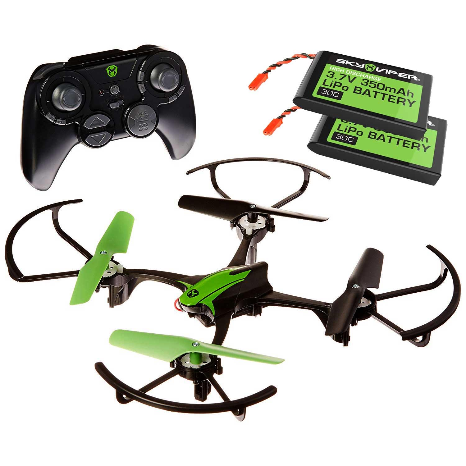 Sky Viper s1700 High Flying 8 Stunts Flight Assist Controlled Drone w Batteries by SKYROCKET TOYS