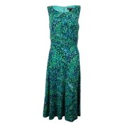 Jessica Howard Woman's Graphic Printed Dress