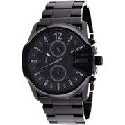 Diesel Men's Blackout Steel Chronograph Watch DZ4180