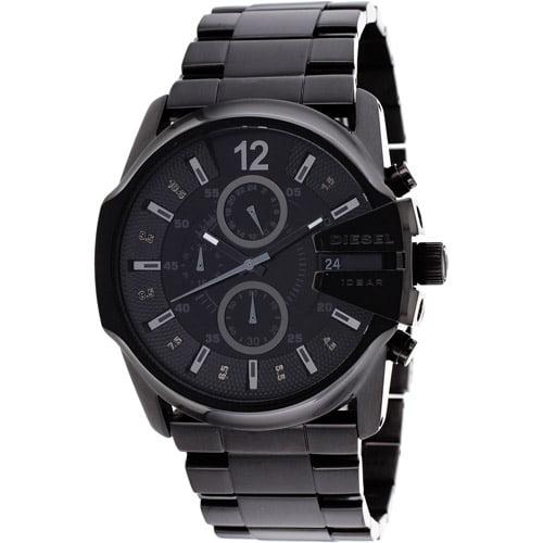 Men's Blackout Steel Chronograph Watch DZ4180