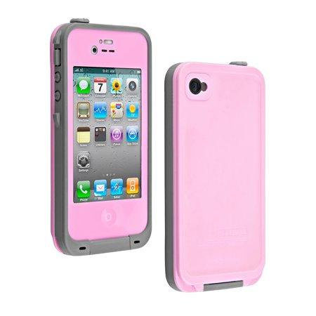 lifeproof fre case for apple iphone 4 4s pink certified. Black Bedroom Furniture Sets. Home Design Ideas