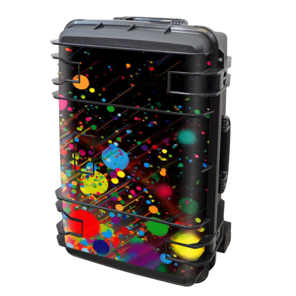 Skin Decal Vinyl Wrap for Seahorse SE-920 Case stickers skins cover/ colorful paint splatter