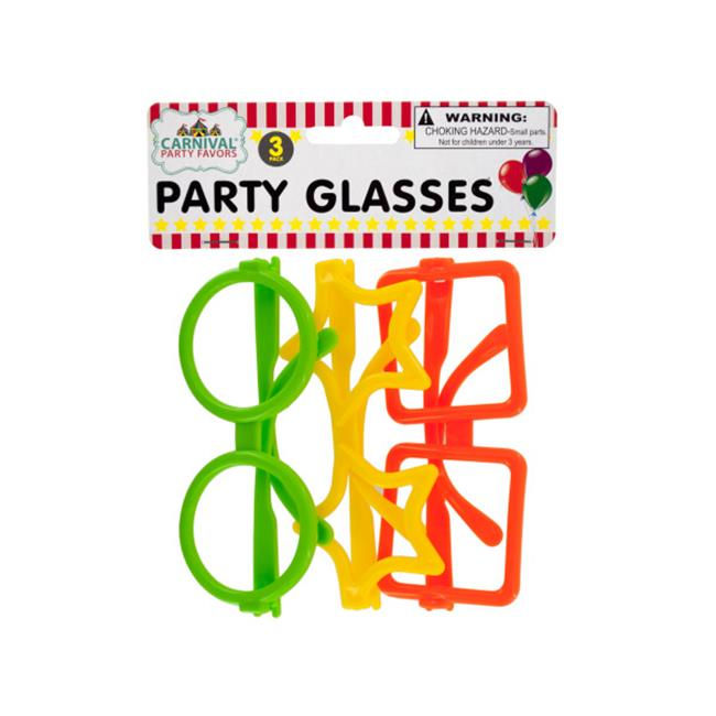 Bulk Buys KA287-48 Party Glasses, 48 Piece