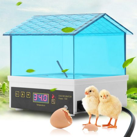 Tbest 4 Eggs Incubator Temperature Control Digital Automatic Chicken Duck Hatcher, Incubator Hatcher, Egg Hatcher
