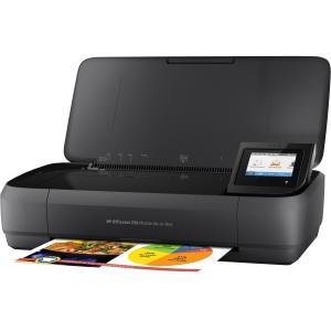 HP Officejet 250 Inkjet Multifunction Printer - Color - P...