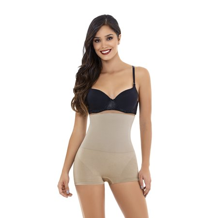 9058d6bf49 ShapEager Body Shapers Shapewear and Fajas - ShapEager Shapewear Women  Seamless Shaper Boxer Body Shaper Faja Colombiana - Walmart.com