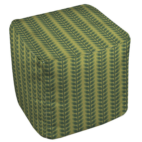 Manual Woodworkers & Weavers Tropical Breeze Pouf