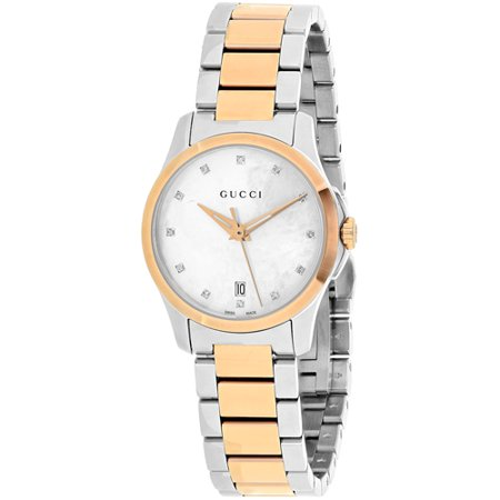 Gucci Women's G-Timeless Watch Quartz Sapphire Crystal YA126544