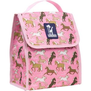 Horses in Pink Munch 'n Lunch Bag