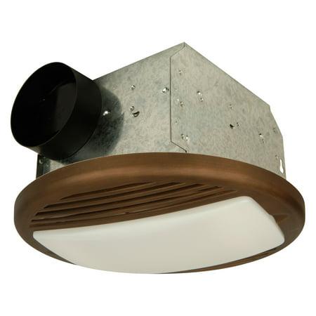 Craftmade TFV70-BZ Bronze Ceiling Mount Bathroom Fan/Light - Walmart.com