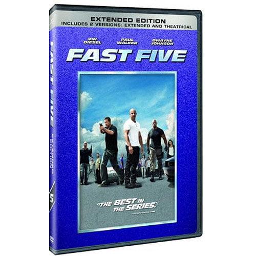FAST FIVE   (DVD) (WS/ENG SDH/SPAN/FREN/2.35:1)