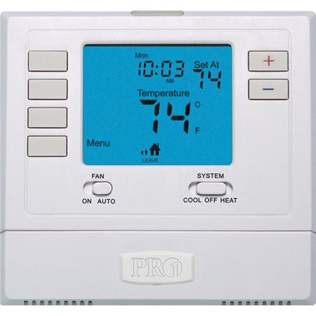 PRO1 T705 Programmable Single Stage Digital (Hvac Thermostat)