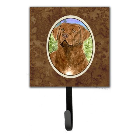 Caroline's Treasures Chesapeake Bay Retriever Leash Holder and Wall Hook