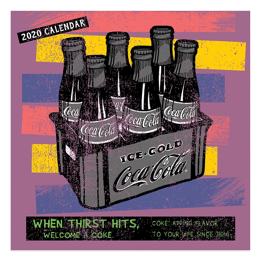2020 Flourish Mini Calendar: 2020 Coca-Cola Mini Calendar