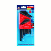 """Eklind Tool Hex-L .050"""" to 5/16"""" SAE Long and Short Arm Hex L-Key Set Multi-Size in. 18 pc."""