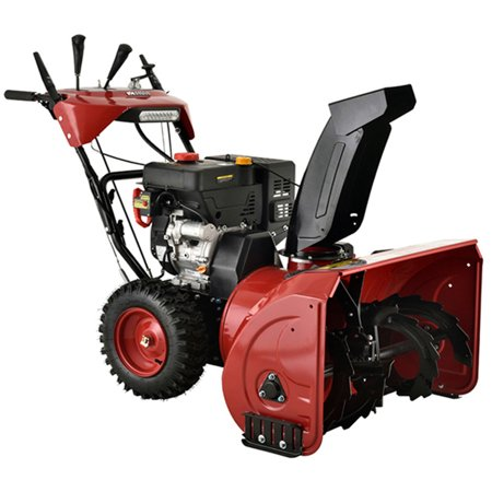 Ast 26 Inch 212 Cc Two Stage Electric Start Gas Snow Blower Amico Power