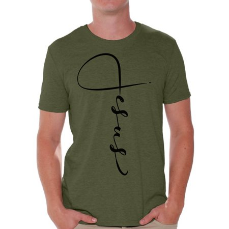 Awkward Styles He Is Risen Shirt for Men Christian Shirts for Men Happy Easter Gifts for Him Easter Christian Outfits Jesus T Shirt Bible Verse Matthew 28:6 Men's Easter Tshirt Easter Theme