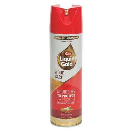Scotts Liquid Gold AT14 14oz Wood Cleaner Preservative, AerosolCan