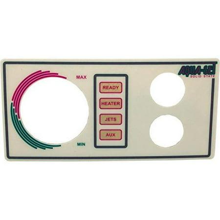 Len Gordon 930222-201 AquaSet Pool or Spa Control 2-Button Faceplate (Spa Side Label 2btn Len)