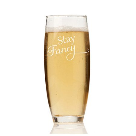 Stemless Flute Glass - Chloe and Madison Stay Fancy 9 oz. Stemless Champagne Flute (Set of 4)