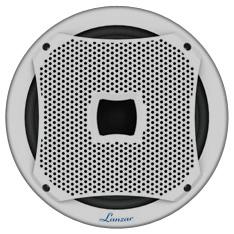 Lanzar AQW10 800 Watt 10-Inch Marine Subwoofer (White Color)