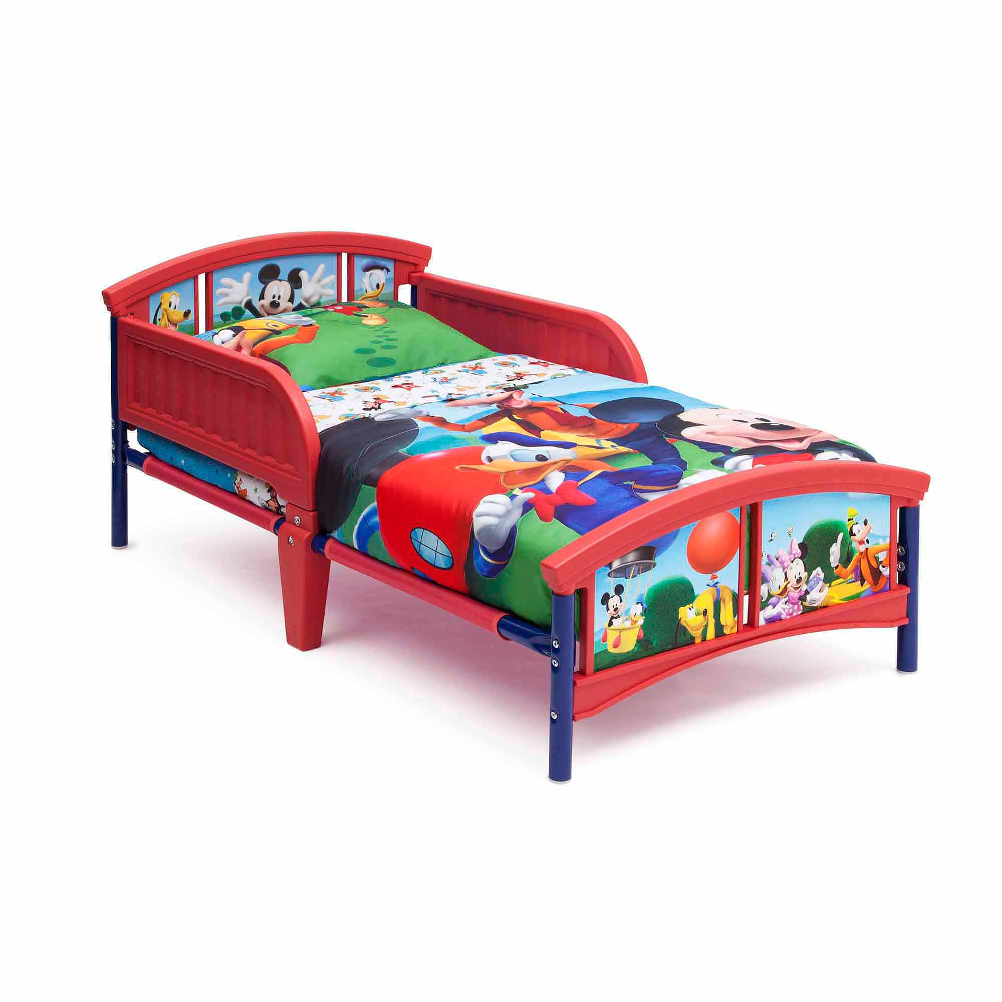 disney mickey mouse plastic toddler bed walmartcom