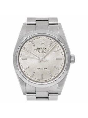 Pre-Owned Rolex Air-king 14000 Steel  Watch (Certified Authentic & Warranty)
