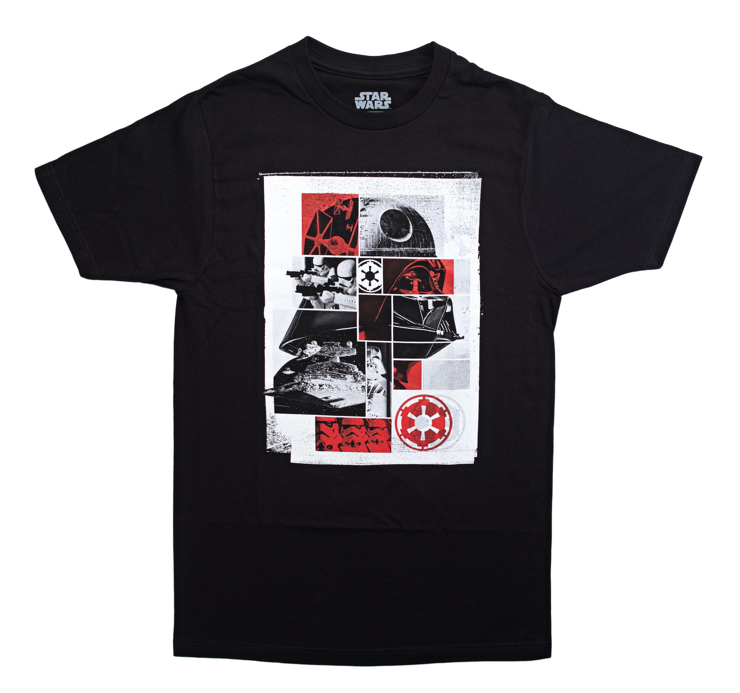 Star Wars Vader Grid Collage Graphic T-Shirt   2XL