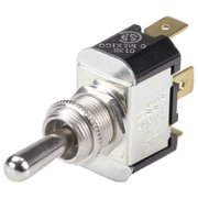 Ancor Nickel Plated Brass Toggle Switch SPDT, On/Off/On