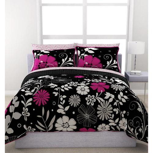 my room zebra complete bed in a bag bedding set purple walma