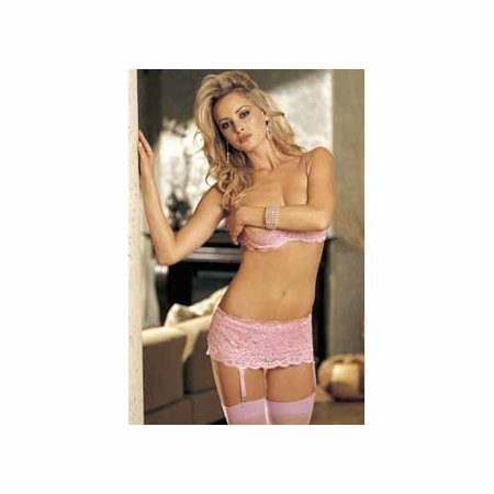 b2955c72513b6 Shirley of Hollywood - Shirley of Hollywood Lace Underwire Shelf Bra 20144  Pink - Walmart.com