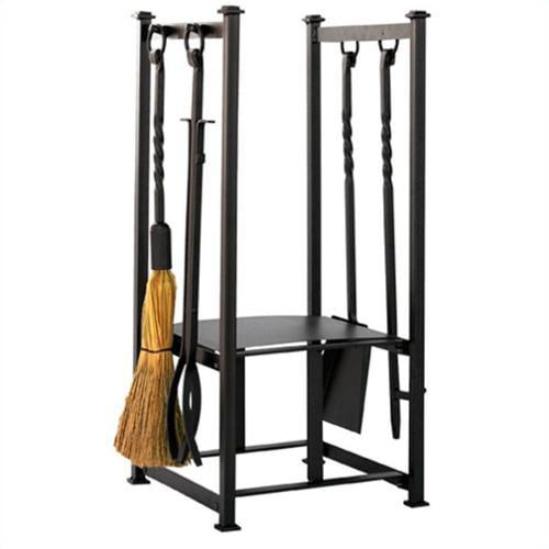 Uniflame Olde World Iron Log Rack with Tools