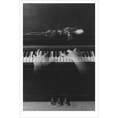 - Buyartforless Phantom Piano Player by Richard Gallup 36x24 Surreal Photo-Composite Art Print Poster