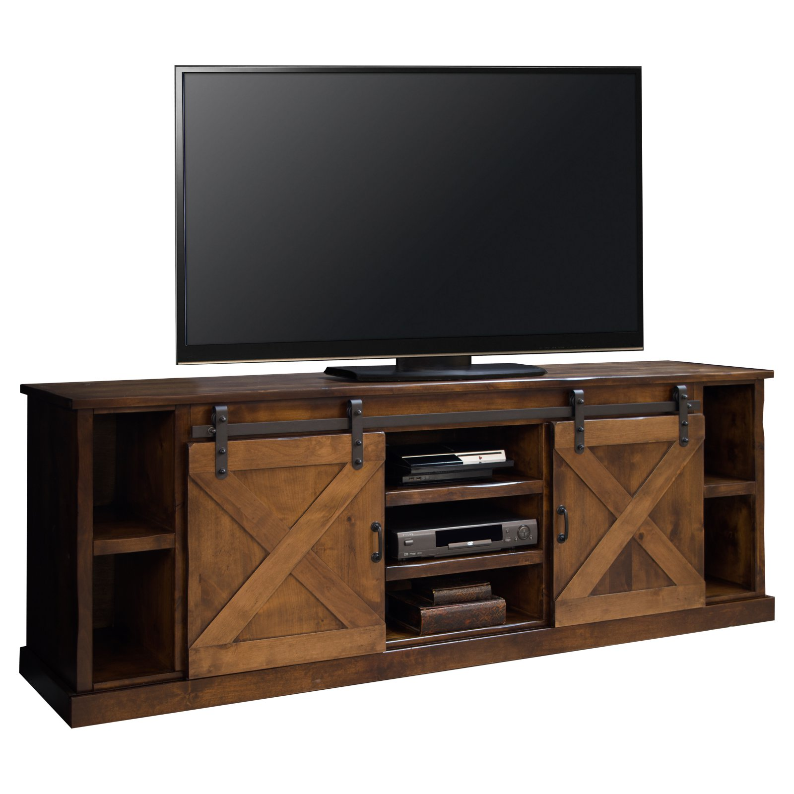 Legends Furniture Farmhouse Oak Entertainment Center